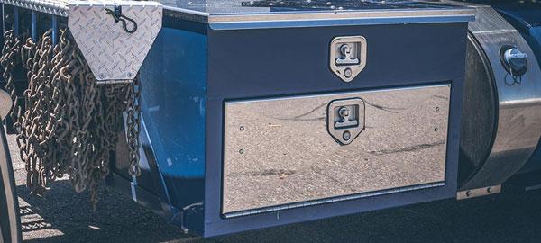 custom semi box underbody box