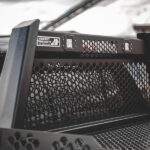 Guardian Full Mesh Headache Rack with LED lights and HPI Bed Rails