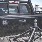 5th Wheel Truck Bed Tool Box Black Diamond Plate Finish