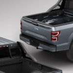 Black Savage Headache Rack on Ford F150