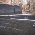 Low Profile Truck Tool Box with Black Diamond Plate Finish