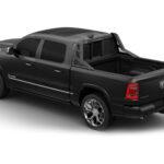 Beast Truck Open Mesh Headache Rack with Light Right on Dodge Ram