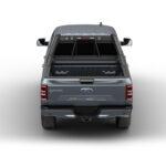 Beast Black Truck Headache Rack on Ford F150 Center