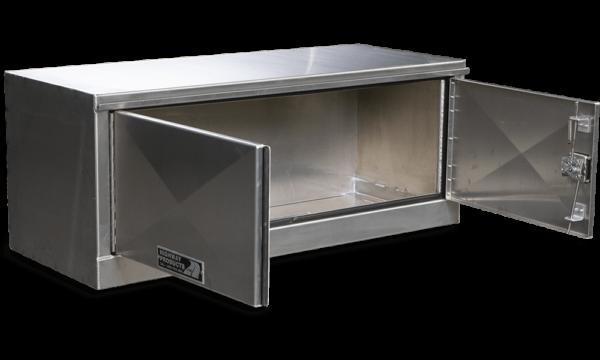Double Door Aluminum Underbody Semi Box
