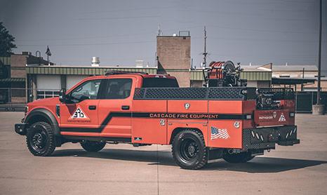 hpi custom fire truck service body