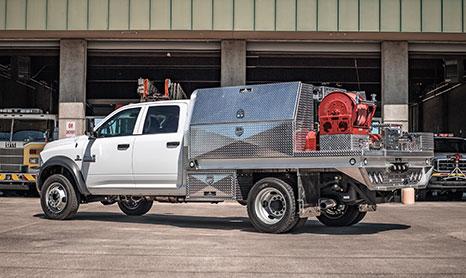 hpi custom pickup truck fire truck flatbed