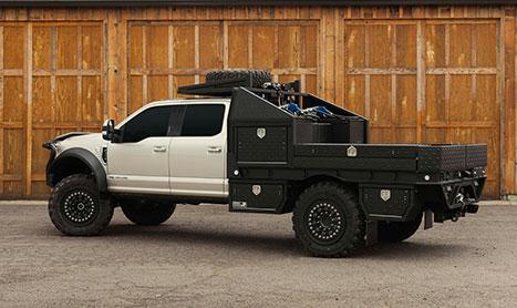 hpi custom pickup truck flatbed