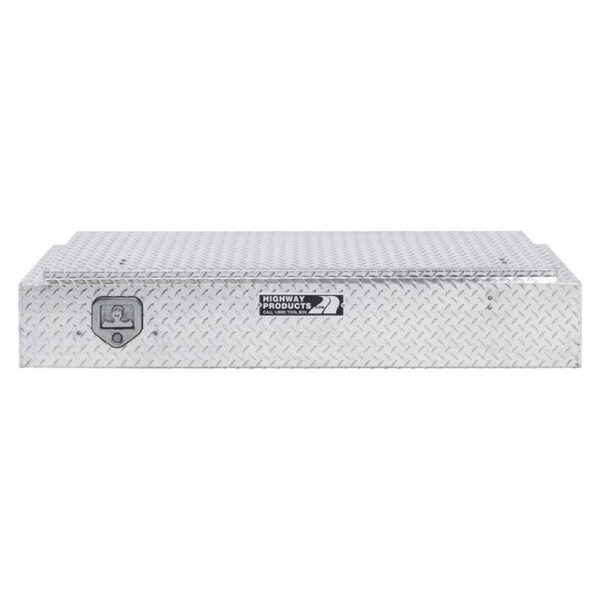 Diamond Plate Lid and Base Straight Closed 1