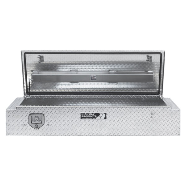 Diamond Plate Lid and Base Straight Open 1