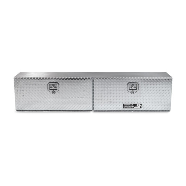 Diamond Plate Lid and Base double front closed
