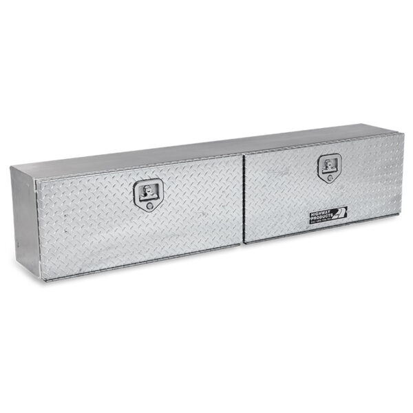 Diamond Plate Lid and Base double left side closed