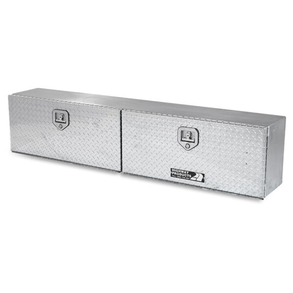 Diamond Plate Lid and Base double right side closed