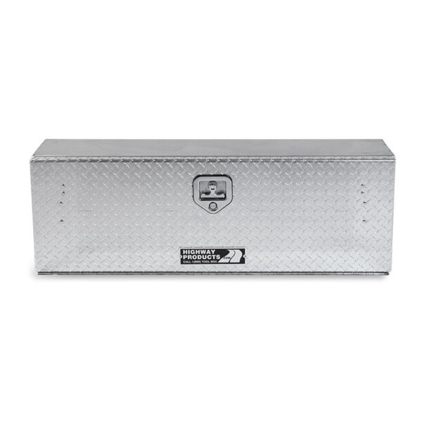 Diamond Plate Lid and Base single front closed