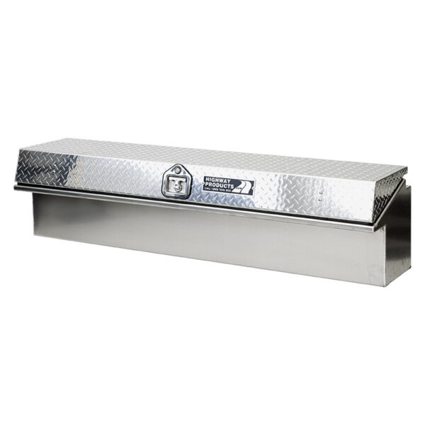 Diamond Plate Lid with Smooth Aluminum Base right 1