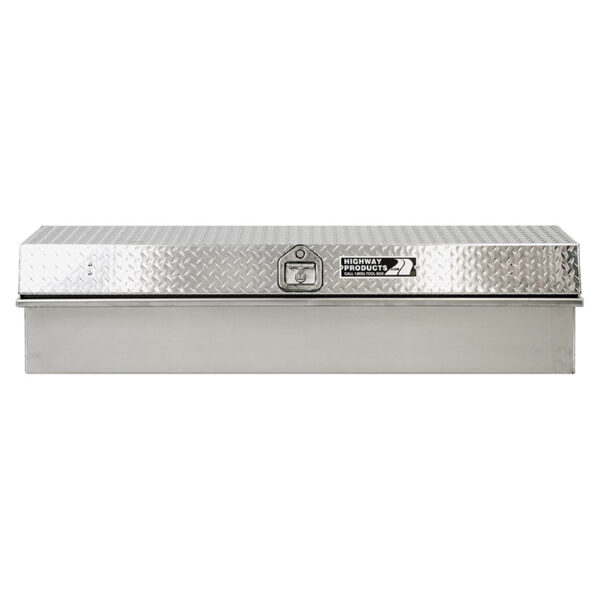 Diamond Plate Lid with Smooth Aluminum Base straight 1