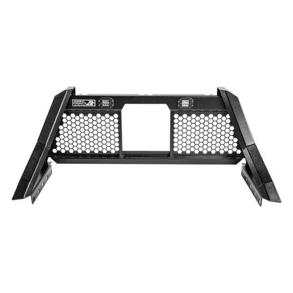 Savage Open Mesh Smooth black with lights center