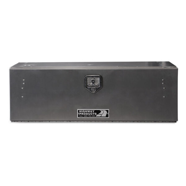 Smooth Aluminum Door and Base single front closed