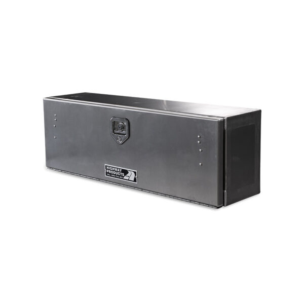 Smooth Aluminum Door and Base single right side closed