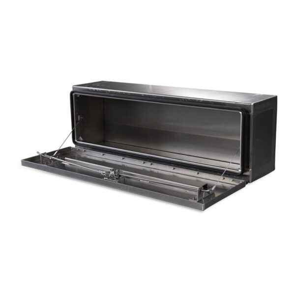 Smooth Aluminum Door and Base single right side open