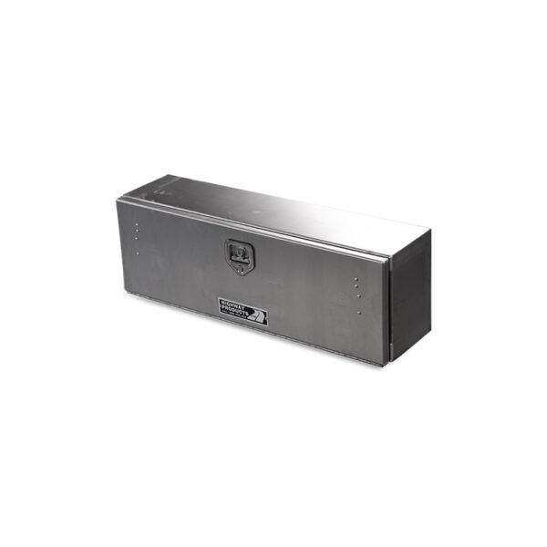 Smooth Aluminum Door and Base single top down view