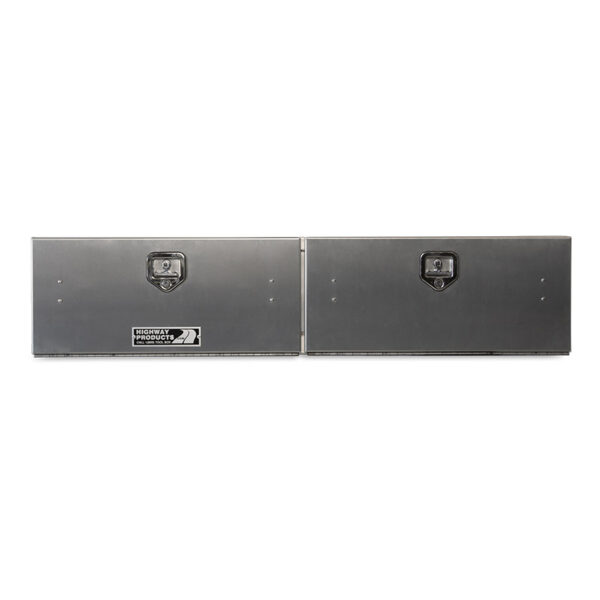 Smooth Aluminum Doors and Base double single font closed